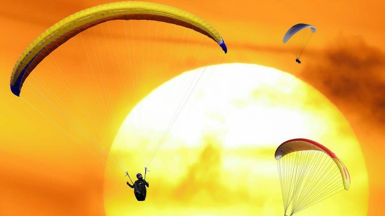 sport, leisure, flying